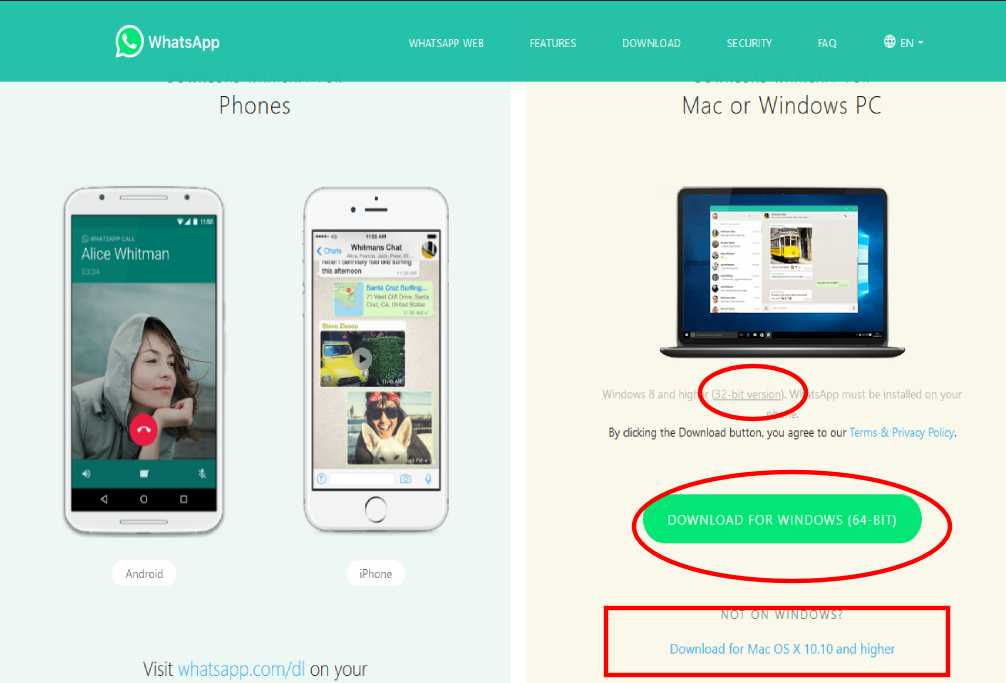Whatsapp for web Download