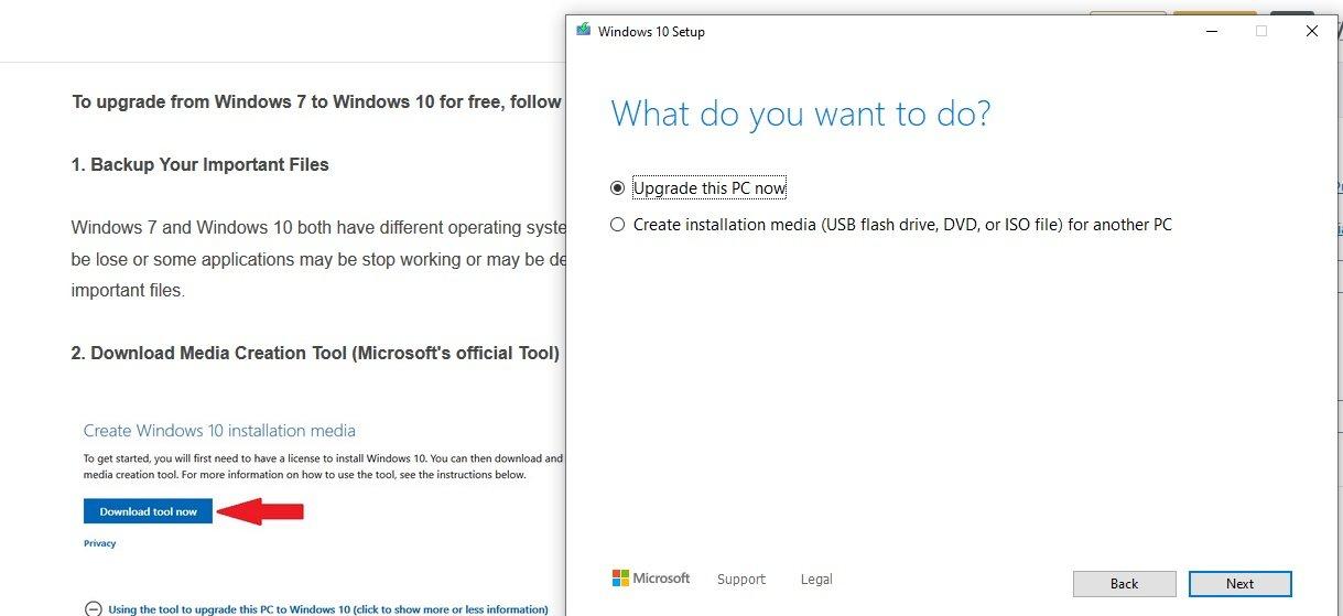 Windows 7 Upgrade To Windows 10 Free