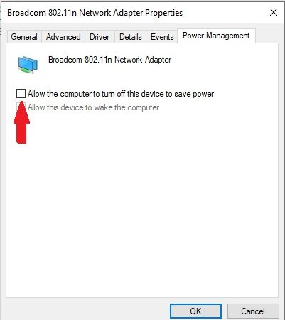 Laptop Keeps Disconnecting From WiFi