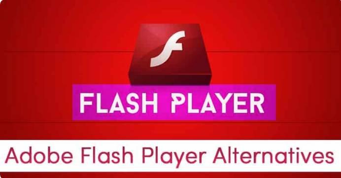Adobe Flash Player Alternative Windows 10